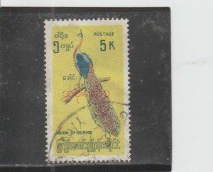 Burma  Scott#  O115  Used  (1968 Overprinted)