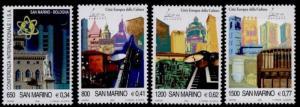 San Marino 1473-6 MNH Bologna, Architecture