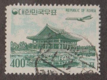 Korea - Republic of South Korea Scott #C26 Stamp - Used Single