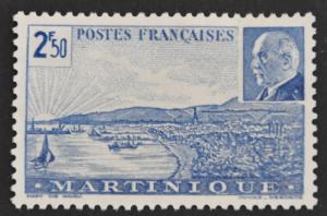 DYNAMITE Stamps: Martinique Scott #189 – UNUSED