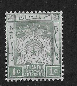 MALAYA - KELANTAN  SC# 1  F/MOG