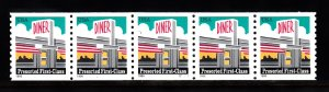 USA PNC SC# 3208 DINER PRESORTED FIRST CLASS $0.25c. PL# S11111 W.A. PNC5 MNH