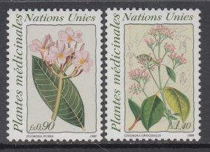 UN Geneva 186-187 MNH VF