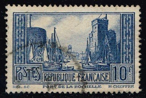 France #252 Port of La Rochelle; used (6.50)