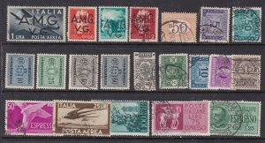 ITALY  ^^^^^BOB  hinged & used collection  $$@sc19ital199