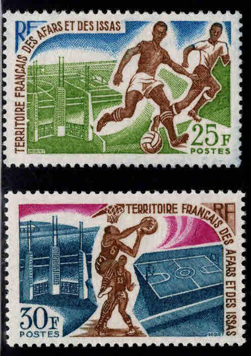 Afars and Issas Scott 315-316 MNH** Sports set