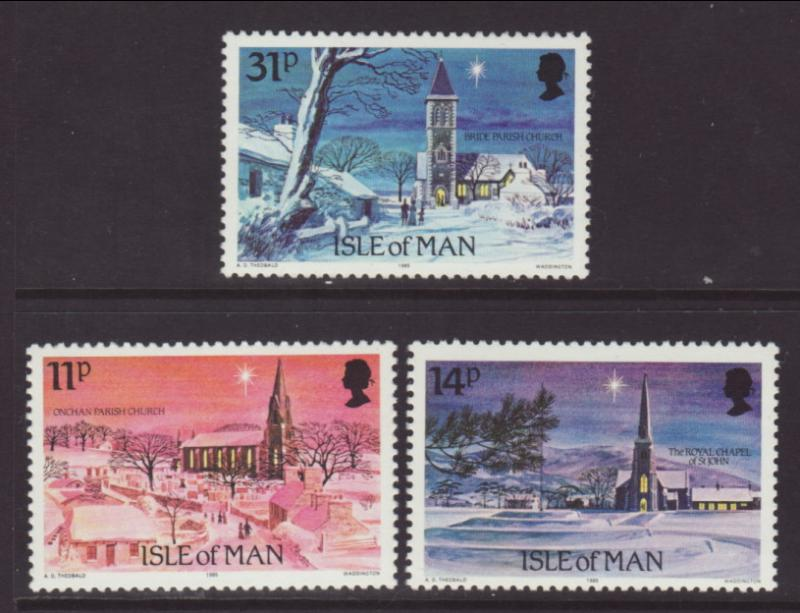 Isle of Man 294-296 Christmas MNH VF