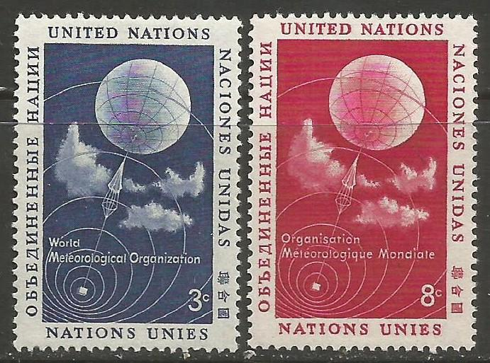 UNITED NATIONS 49-50 MOG W382