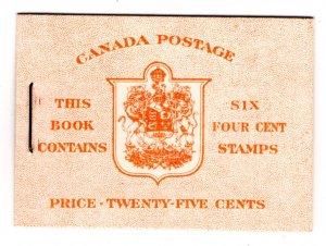 BK45 (English), Queen Elizabeth, Karth Issue, 1953, Canada, pane of 6, 328b