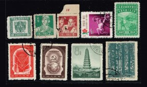CHINA STAMP  Used STAMP COLLECTION LOT #J36