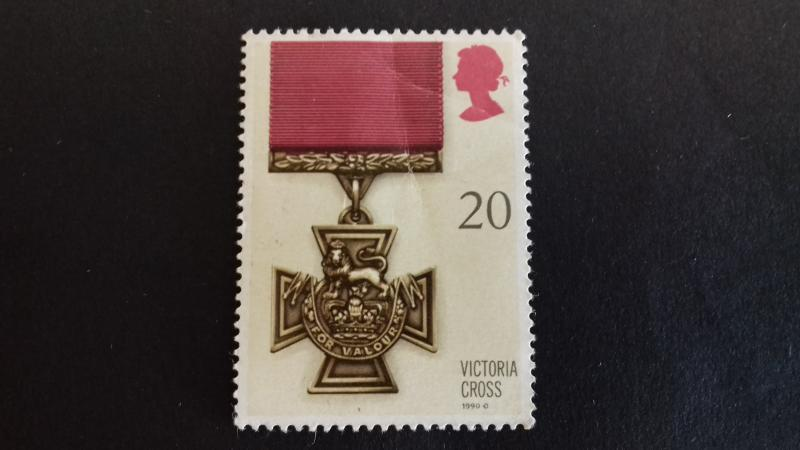 Great Britain 1990 Gallantry Awards Victoria Cross Unused