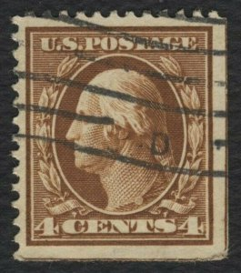 #377 4c Washington, Used [8] **ANY 4=FREE SHIPPING**