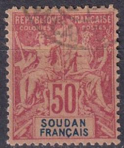 French Sudan #16 F-VF Used CV $65.00 (A19322)