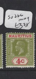 MAURITIUS (P1905B)  KGV 4 C SG  226   MOG