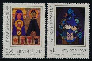 Argentina 1610-1 MNH Christmas, Art, Tapestries