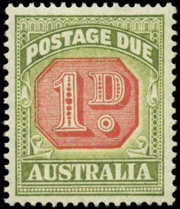 Australia Scott #J65 Mint Never Hinged