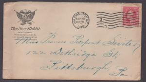 **US 20th Century WWI Patriotic Adv Cover, SC# 425, Washington, DC 9/20/1916