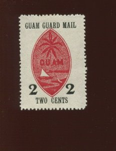 GUAM  Guard Mail M4 Unused Stamp  (Bx 527)