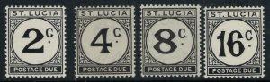 St. Lucia #J7-10*  CV $9.35