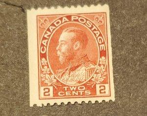 CANADA # 132 MNH GUM DIST.CV $60.00