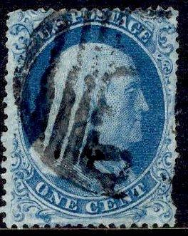 US Stamp Scott #18 Used SCV $500