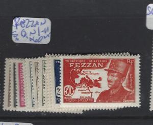 LIBYA  FEZZAN  (PP0410B) SC N1-11  MOG