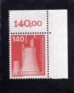 GERMANY - GERMANIA - ALLEMAGNE 1975 INDUSTRY HEIZRAFTWERK MNH