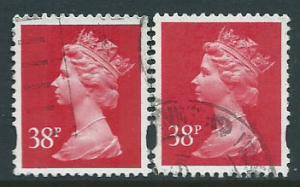 Great Britain - QE II Machin SG Y1706