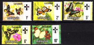 Sarawak 235-9 mnh