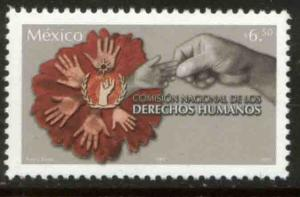 MEXICO 2445, National Human Rights Commission. MINT, NH. F-VF.