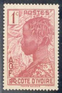Ivory Coast ~ #112 ~ Baoule Woman ~ MH
