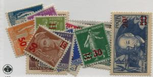 FRANCE  400-14  MNH AND MLH  414 IS MNH