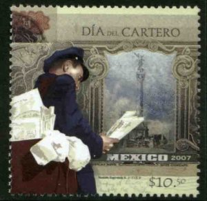 MEXICO 2558, LETTER CARRIERS AND POSTAL EMPLOYEES DAY. MINT, NH. VF.
