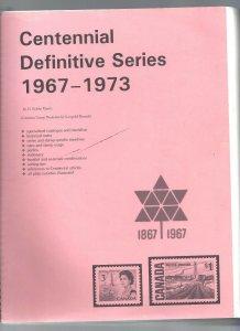 Canada HARRIS' CENTENNIAL DEFINITIVE SERIES BOOK VF LIGHTLY USED (BS19416)