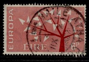 IRELAND QEII SG191, 6d carmine-red, FINE USED.