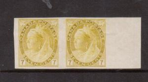 Canada #81a VF Mint Imperf Pair