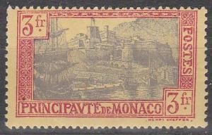 Monaco #90  F-VF Unused  CV $25.00  (S7857)