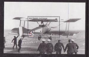 BIOT-Sc#376-unused NH sheet-Planes-Aircraft-Naval Aviation-2009-