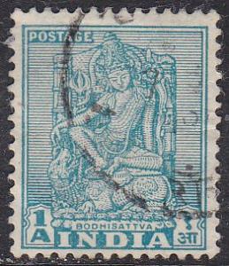 India 231 Hinged Used 1950 Bodhisattva