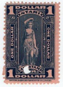 (I.B) Canada Revenue : Ontario Law Stamp $1