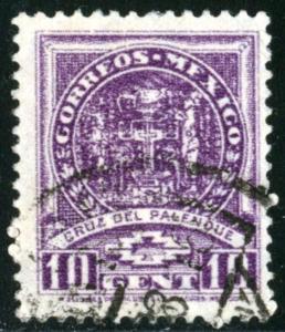 MEXICO #712 - USED - 1935 - MEXICO001