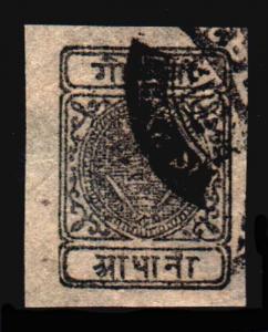 NEPAL 10  Used (ID # 65977)