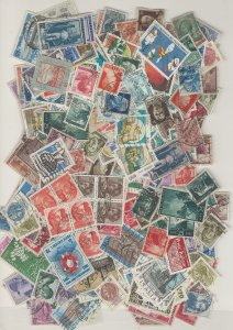 COLLECTION LOT # L9 ITALY 145gr ABOUT 2200 STAMPS FREE H & S