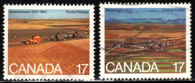Canada # 863-64 ~ Cplt Set of 2 ~ Used