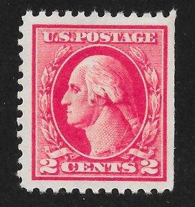 526 Unused, 2c. Washington, Type IV, Offset, FREE Insured Shipping