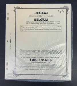 Belgium, Scott Specialty Album Supplement 2008, Supplement 59, Item #303S008