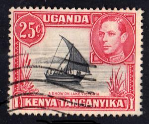 Kenya Uganda & Tanganyika Scott 75 Used.