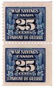 (I.B) Canada Revenue : War Savings Stamp 25c