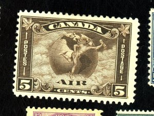 CANADA #C2 MINT FVF OG HR Cat $75