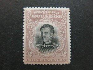 A4P46F38 Ecuador 1899 2c mh*